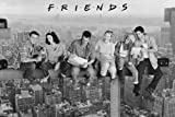 Empire Merchandising 626257 Friends - On Girder - Poster - Filmposter - Größe 91.5 x 61 cm