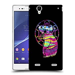 Snoogg Colorful Animal Designer Protective Back Case Cover For SONY XPERIA T2 ULTRA