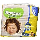 Huggies Unistar Pañales, talla 6(15–30kg), 2paquetes de 36[72Pañales]