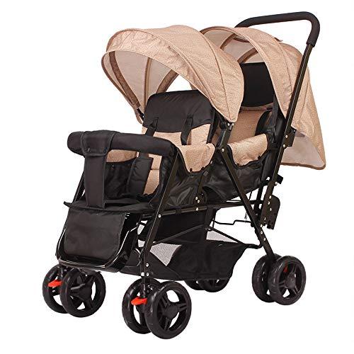 Defect Kinderwagen Doppelkinderwagen Leichter Faltbarer Zwillingskinderwage