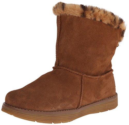 Skechers AdorbsPolar - Zapato Botín de Piel Mujer, Marrón (csnt), 37