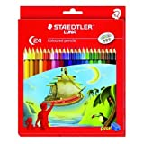 #2: Staedtler Luna 24-Shade Coloured Pencil Set