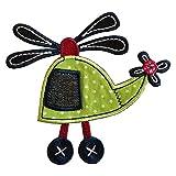 Hubschrauber 11X11cm Aufbügler flicken Stoff Patch Kleider Aufnäher Bügelbild zum Bügeln auf Decke Hosen Fahne Hemd Kleider Kappe Rock Turnsack Halstuch Wimpel Rucksack Tasche Hut Schal Jeans Jacke Kissen Türschild für trendige Geschenke mit Künste Kleidung Mädchengeschenk Bügel Motive Kindergarten Machen Dekorieren Kurzwaren Kreativ Geschenk Für Kunden Taufgeschenk Applikationen Geburt Dekorativ Buchstaben Multi Kurzware Motive Hobby Stoff Applikationen Fussball Mercerie Sport Annähen