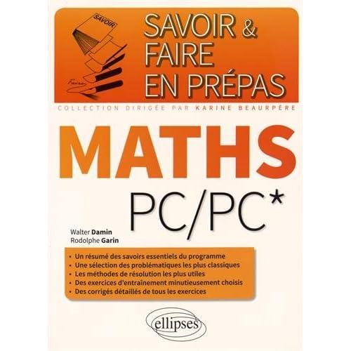 Savoir & Faire en Prépas Maths PC/PC*
