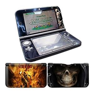 Nintendo 3DS XL Skin Design Foils Aufkleber Schutzfolie Set – Grim Reaper Motiv