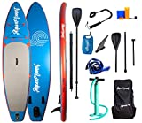 "AQUAPLANET 10ft 6"" x 15cm PACE Stand Up Paddle board kit.Air Pump With"