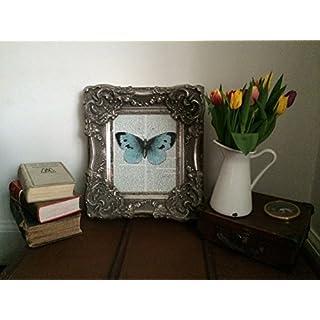 Heavily Ornate Silver California Picture Frame