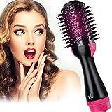 Hot Air Brush One-Step Hair Dryer Brush & Volumizer,Dry & Straighten & Curl