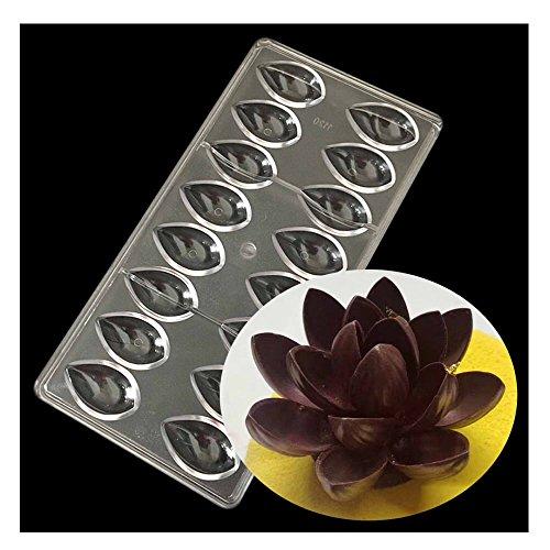 Lotus PC Schokoladen Backen Eis Form 3D Nahrungsmittel Küchen Werkzeuge von GOOTRADES