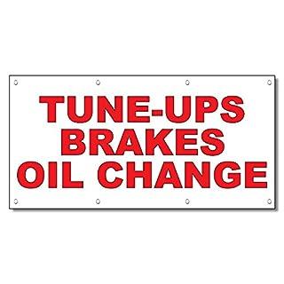 tune-ups Breaks Öl Change rot Auto Car Repair Shop Vinyl Banner Schild 3 Ft x 6 Ft