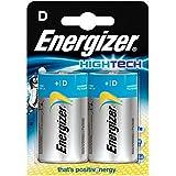 ENERGIZER Blister de 2 Piles Hightech LR20 Mono D