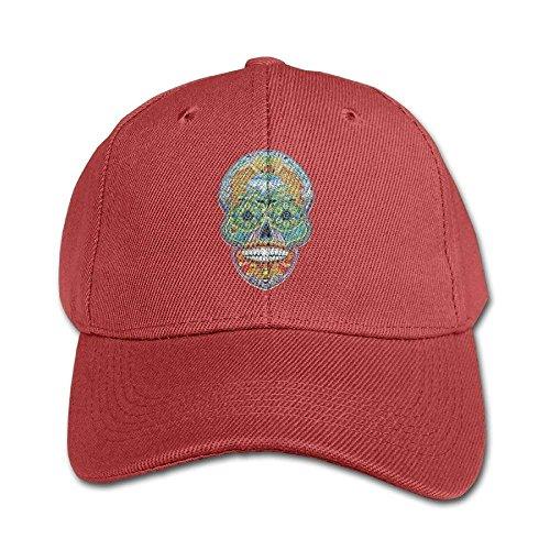 Personality Caps Hats Sugar Skull Puzzle Pure Color Baseball Cap Cotton Adjustable Kid Boys Girls Hat