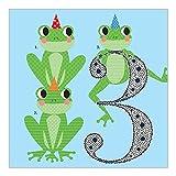 Tickle Geburtstag Karten–Frösche ab 3