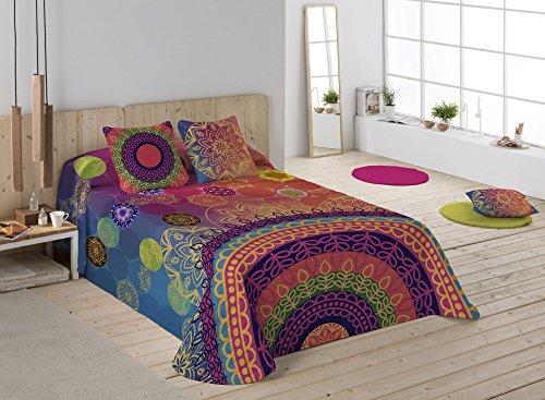 NATURALS Colcha Yasin Multicolor Cama 150 (250