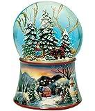 Spieluhrenwelt 48084 Schneekugel Schlitten
