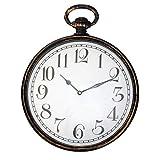 Fishtec  Wanduhr Vintage Gusset Watch - Große Zahlen - Funkgesteuert