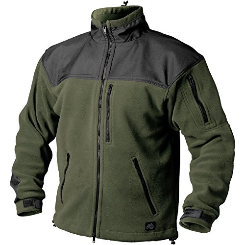 Preisvergleich Produktbild Helikon Classic Army Fleece Oliv Grün / Schwarz Größe L