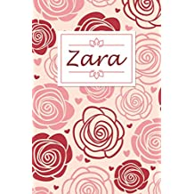Zara: Personalised Notebook / 120 Lined Pages / Perfect for journaling and writing notes.