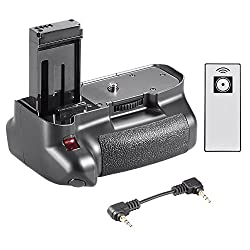 Neewer® Vertical Wireless Remote Control Battery Grip Works With Lp-e12 Battery For Canon Eos 100d Cameras