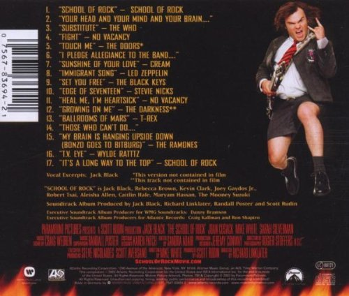 School Of Rock  [Music From And Inspired By The Motion Picture]