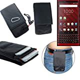 K-S-Trade® Belt Bag/Breast Bag For Blackberry KEY2 Red