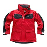 Gill Men's Coast Jacket Red/Graphite IN12J Sizes- - Large