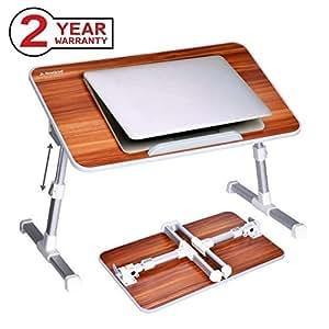 Avantree regolabile vassoio letto ripiegabile tavolino da letto tavolino per notebook tavolo - Letto ripiegabile ...