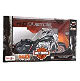 Maisto- Moto 1:12 Harley-Davidson, Colori assoriti, 32320