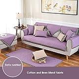 DULPLAY Anti-Rutsch-Sofa abdeckungen,Vier Jahreszeiten,Einfaches Sofa slipcover,Sofaüberwurf,Sofa dämpfung,Nordische,Moderne-E