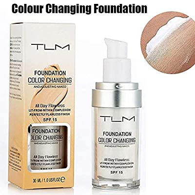TLM Foundation Color Changing