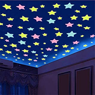 Veilleuse Autocollant Papier peint Autocollant Mural Autocollant Location Retrofit Chambre d'enfant Chambre Décoration de plafond Mise en page Artefact