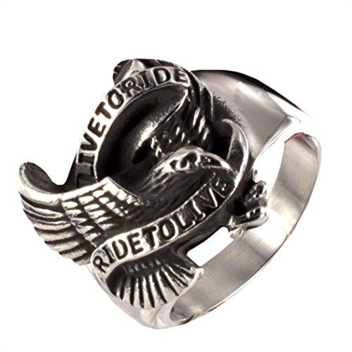 motorista-anillo-adler-acero-inoxidable-l316-live-to-ride-ride-to-live-10171