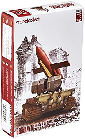 modelcollect ua72071 modèle Kit Allemagne WWII V1 Missile Launcher W.E-100 Body