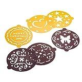 Pedrini 03GD204 6pieza(s) Superior plantilla de decoración para tartas - Plantillas de decoración...
