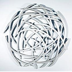 Casa Padrino espejo de pared de diseño Ø 116 cm - Colección de Diseño