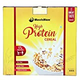 #4: MuscleBlaze High Protein Cereal- 500gms / 1.1 lb