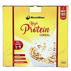 MuscleBlaze High Protein Cereal - 500 g