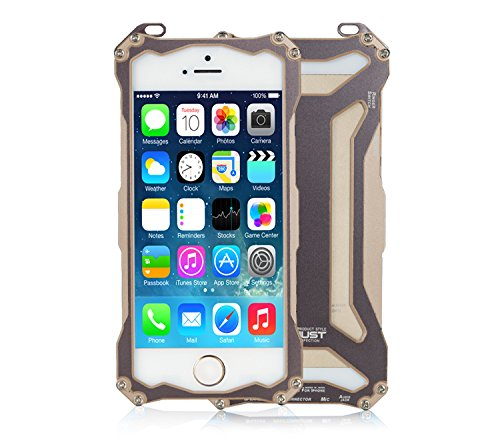 iPhone SE Fall, iPhone 5/5S Fall, eastcoo Premium Staubdicht Stoßfest Drop Widerstand Rugged Hybrid Dual Farbe Armor Schutzhülle für iPhone SE gold