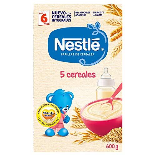 Nestlé Papilla 5 cereales Alimento Para bebés -