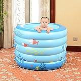 TD Baby Schwimmbecken Haus Isolierung Neugeborenes Baby Schwimmen Eimer Junge Kinder Aufblasbare Bad Runde Dick (Farbe : 1)