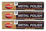 3x AUTOSOL Metal Polish Edel Chromglanz Metall...