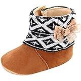 Yogogo Bébé Bottes de neige, Infant Fille douce Sole prewalker Crib Shoes