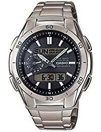 Casio Wave Ceptor – Herren-Armbanduhr mit Analog/Digital-Display und Massives Titanarmband – WVA-M650TD-1AER