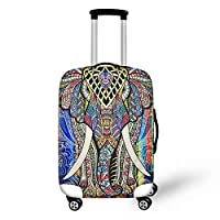 """chaqlin Animal Printed Lugagge Covers Protector Suitcase Cover Case Fit for 18"""" 20"""" 22"""" 24"""" 26"""" 28"""" Luggage"""