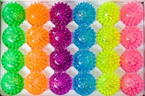 Balles avec 24 ampoules lED 6 couleurs igelball balle