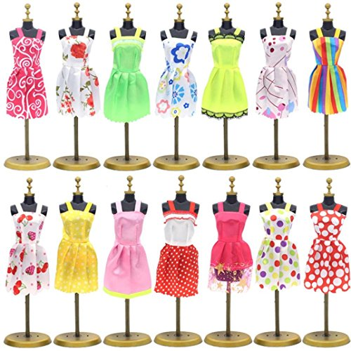 Transer® 10PC/Set Barbie Dress U...