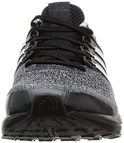 adidas Herren Supernova Glide 8 M Laufschuhe Black (Negbas / Ftwbla / Nocmét)