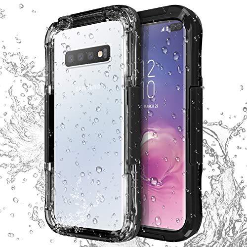 AICase Galaxy S10 Plus Wasserdicht Handyhülle, [Staubdicht] [Wasserdicht] [Stoßfest] IP68 Zertifiziert voll versiegelt wasserfeste handyhülle für Samsung Galaxy S10 Plus