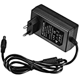 Liqoo® 4A DC 12V 48W LED Cable de Cargador y Adaptadpr Fuente de Alimentación de enchufe de CA para LED RGB Franja de Gaza Drives Discos Duros Ruta AC 100-240V