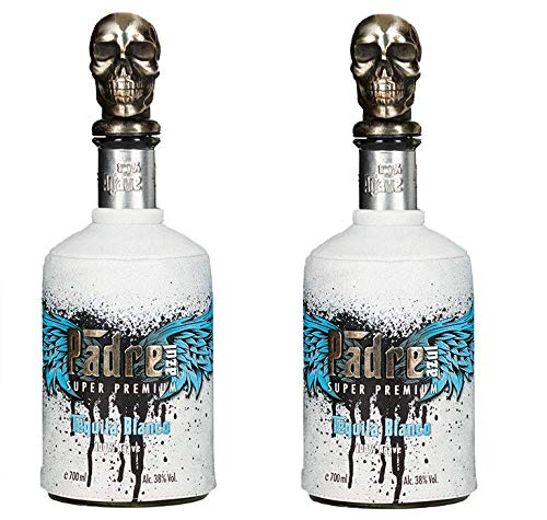 Padre Azul Tequila aus Mexico 2er Sparpack Padre Azul Tequila Blanco 38% vol (2 x 0,7 Liter)